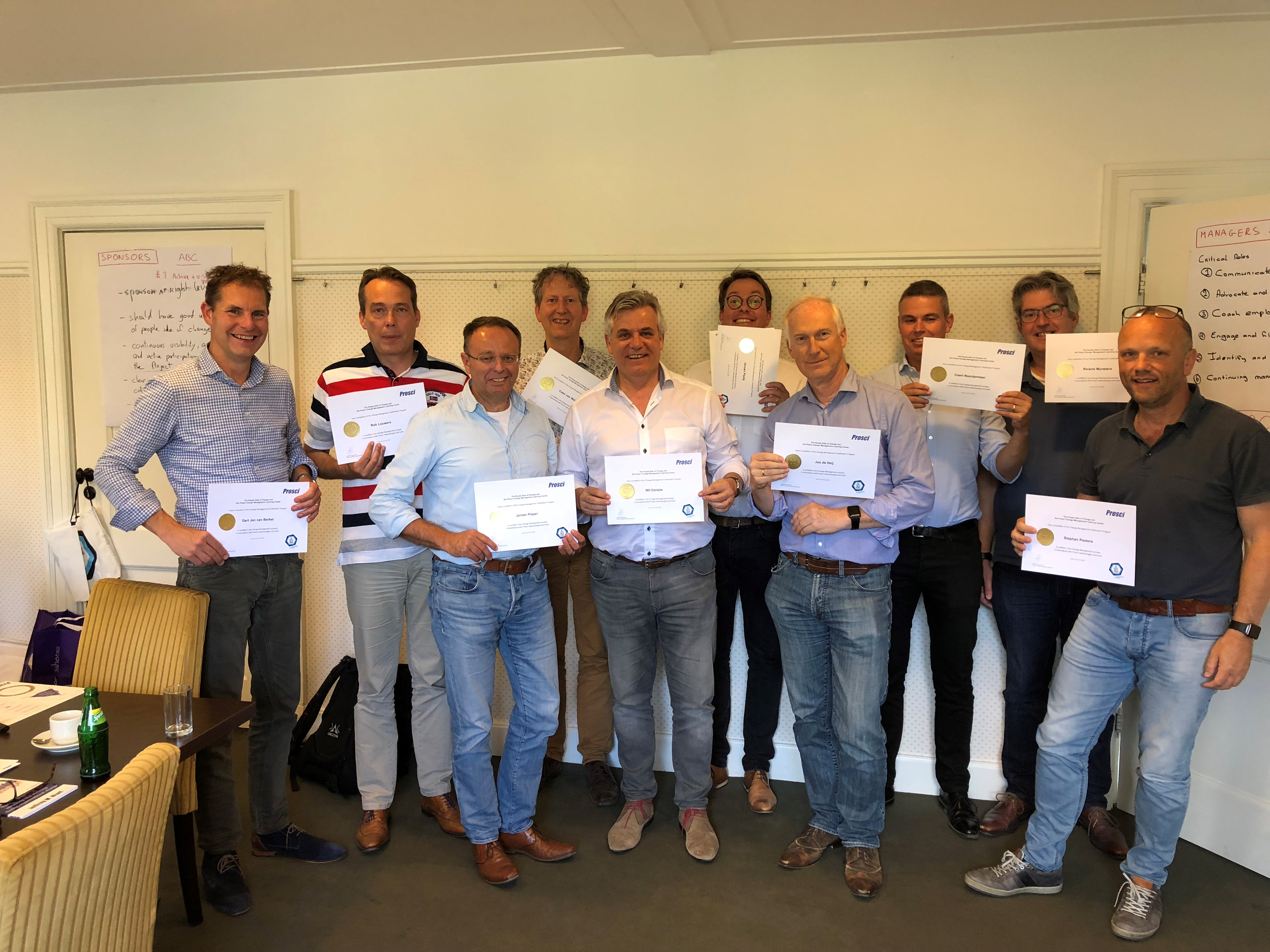 Second group of Purple Square Employees certified in ADKAR